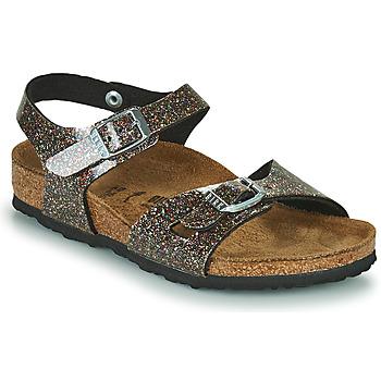 Schuhe Mädchen Sandalen / Sandaletten Birkenstock RIO Golden