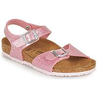 Schuhe Mädchen Sandalen / Sandaletten Birkenstock RIO PLAIN