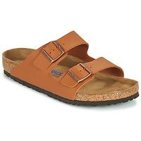Schuhe Herren Pantoffel Birkenstock ARIZONA SFB Braun,