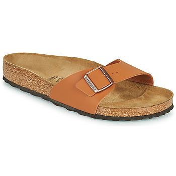 Schuhe Herren Pantoffel Birkenstock MADRID Braun,