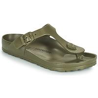 Schuhe Damen Zehensandalen Birkenstock GIZEH EVA Khaki