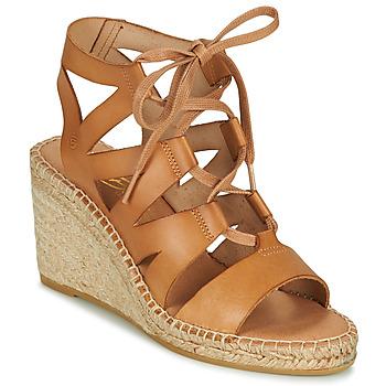 Schuhe Damen Sandalen / Sandaletten Betty London OTANA Kamel