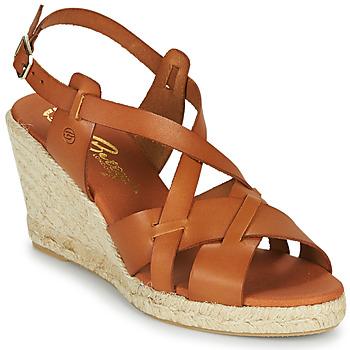 Schuhe Damen Sandalen / Sandaletten Betty London OSAVER Kamel
