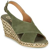 Schuhe Damen Sandalen / Sandaletten Betty London OHINDRA Khaki