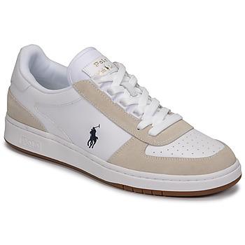 Schuhe Herren Sneaker Low Polo Ralph Lauren POLO CRT PP-SNEAKERS-ATHLETIC SHOE Weiß