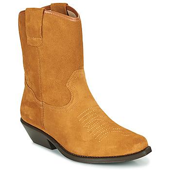 Schuhe Damen Klassische Stiefel Betty London OSONGE Kognac