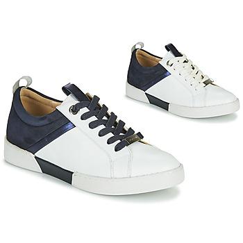 Schuhe Mädchen Sneaker Low JB Martin GELATO Weiß / Marineblau