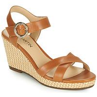 Chaussures Femme Sandales et Nu-pieds JB Martin QUERIDA VTE CAMEL DCV/GOMME