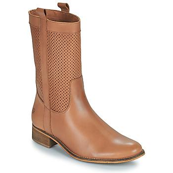Schuhe Damen Klassische Stiefel Betty London ORYPE Kognac