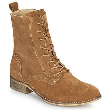 Schuhe Damen Boots Betty London ORYPE Kognac