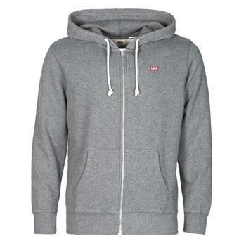 Kleidung Herren Sweatshirts Levi's NEW ORIGINAL ZIP UP Grau
