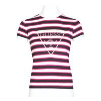 Abbigliamento Donna T-shirt maniche corte Guess GERALDE TURTLE NECK