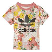 Vêtements Fille T-shirts manches courtes adidas Originals DREZZI