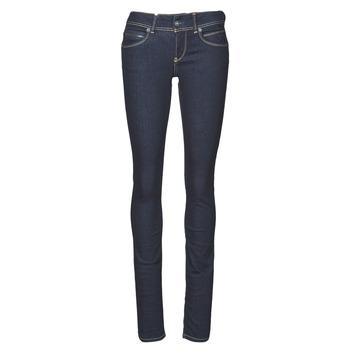 Kleidung Damen Slim Fit Jeans Pepe jeans NEW BROOKE Blau