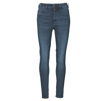 Kleidung Damen Röhrenjeans Diesel D-SLANDY-HIGH Blau