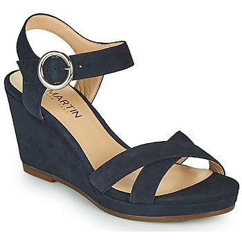 Chaussures Femme Sandales et Nu-pieds JB Martin QUERIDA MTO-MARINE DCV/GOMME