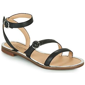 Chaussures Femme Sandales et Nu-pieds JB Martin 1GILANA MTO NOIR DCV/GOMME