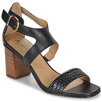 Chaussures Femme Sandales et Nu-pieds JB Martin 1NAWELI VTE NOIR DCN/ELASTO