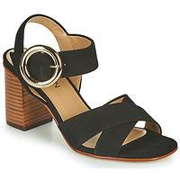 Chaussures Femme Sandales et Nu-pieds JB Martin 1NICKY MTO NOIR DCN/ELASTO