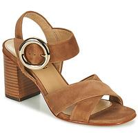 Chaussures Femme Sandales et Nu-pieds JB Martin 1NICKY MTO CAMEL DCN/ELASTO