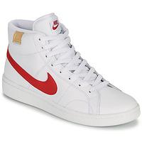 Schuhe Herren Sneaker Low Nike COURT ROYALE 2 MID Weiß / Rot