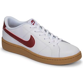 Schuhe Herren Sneaker Low Nike COURT ROYALE 2 LOW Weiß / Rot