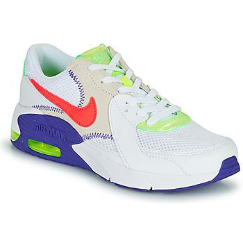 Schuhe Kinder Sneaker Low Nike AIR MAX EXCEE AMD GS Weiß / Blau / Rot