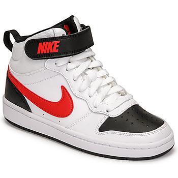 Chaussures Garçon Baskets basses Nike NIKE COURT BOROUGH MID 2