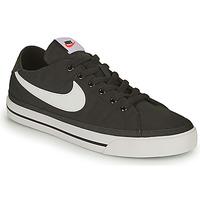Schuhe Herren Sneaker Low Nike NIKE COURT LEGACY CANVAS Weiß