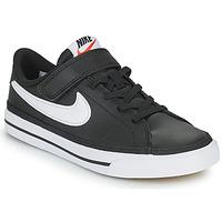 Schuhe Kinder Sneaker Low Nike NIKE COURT LEGACY Weiß