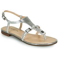 Chaussures Femme Sandales et Nu-pieds JB Martin 2GAELIA MTO- ARGENT DCV/GOMME