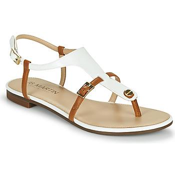 Chaussures Femme Sandales et Nu-pieds JB Martin 2GAELIA VTE-BLANC CAMEL DCV/GOMME