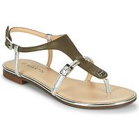 Chaussures Femme Sandales et Nu-pieds JB Martin 2GAELIA VTM KAKI/ARGENT DCV/GOMME