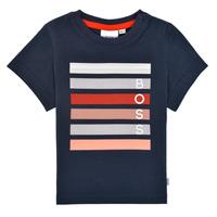 Vêtements Garçon T-shirts manches courtes BOSS FINITANA