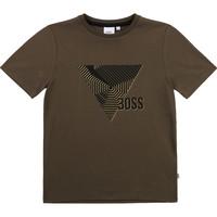 Kleidung Jungen T-Shirts BOSS SIMEO Khaki