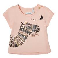 Vêtements Fille T-shirts manches courtes Ikks XS10100-32