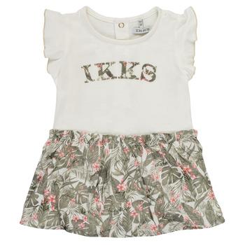 Kleidung Mädchen Kurze Kleider Ikks XS30120-19 Bunt