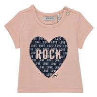 Vêtements Fille T-shirts manches courtes Ikks XS10120-31