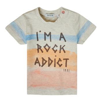 Vêtements Garçon T-shirts manches courtes Ikks XS10061-60