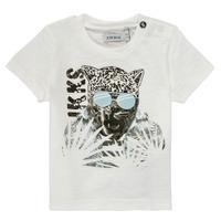 Vêtements Garçon T-shirts manches courtes Ikks XS10161-19