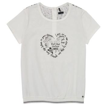 Vêtements Fille T-shirts manches courtes Ikks XS10242-19-J
