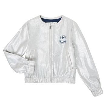 Kleidung Mädchen Jacken / Blazers Ikks XS17042-18-J Silber