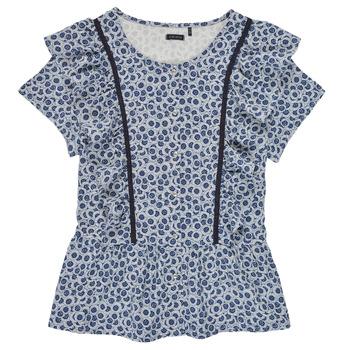 Kleidung Mädchen Tops / Blusen Ikks XS12052-48-J Blau