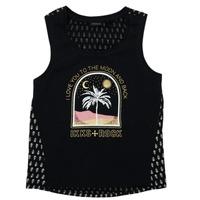 Vêtements Fille T-shirts manches courtes Ikks XS10012-02-J