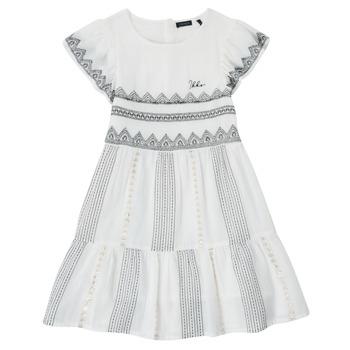 Kleidung Mädchen Kurze Kleider Ikks XS30012-11-J Weiß