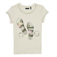 Kleidung Mädchen T-Shirts Ikks XS10132-11-C Weiß