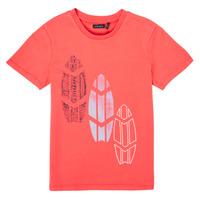 Kleidung Jungen T-Shirts Ikks XS10043-79-C Rot