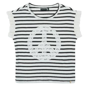 Kleidung Mädchen T-Shirts Ikks XS10022-19-J Bunt