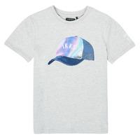 Kleidung Jungen T-Shirts Ikks XS10073-24-J Grau