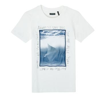 Kleidung Jungen T-Shirts Ikks XS10033-19-J Weiß